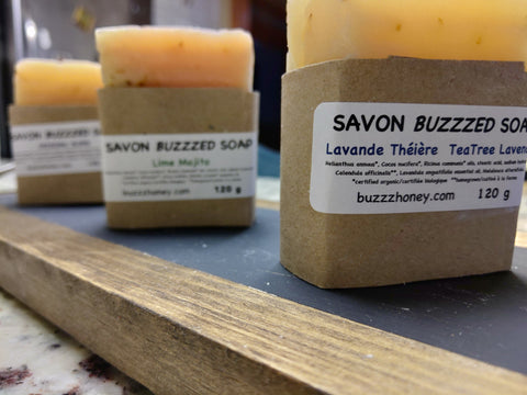 Buzz Honey SOAP (120g) bar
