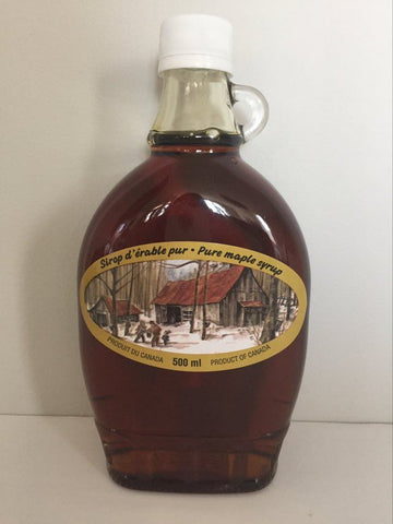 Maple Country Maple Syrup Glass