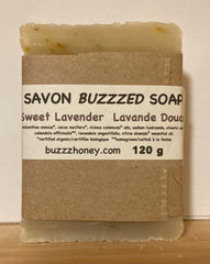 Buzzz Honey Sweet Lavender SOAP (120g) bar