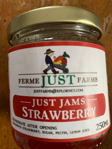 Just Farms strawberry jam
