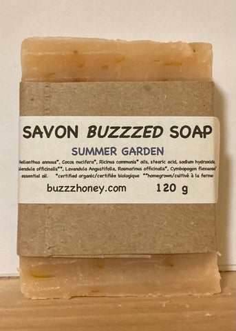 Buzzz Honey Summer Garden SOAP (120g) bar