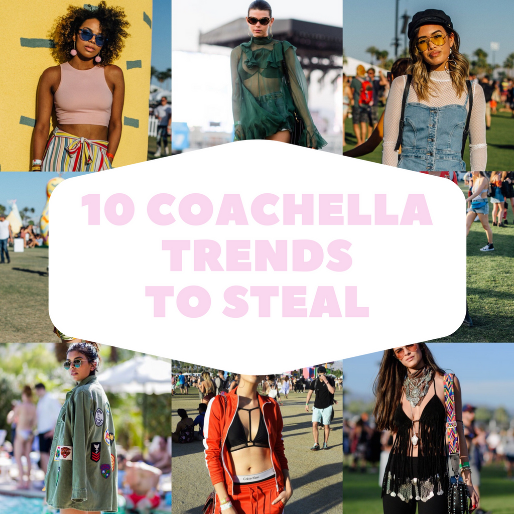 10 Coachella Trends to Steal for Summer 2017