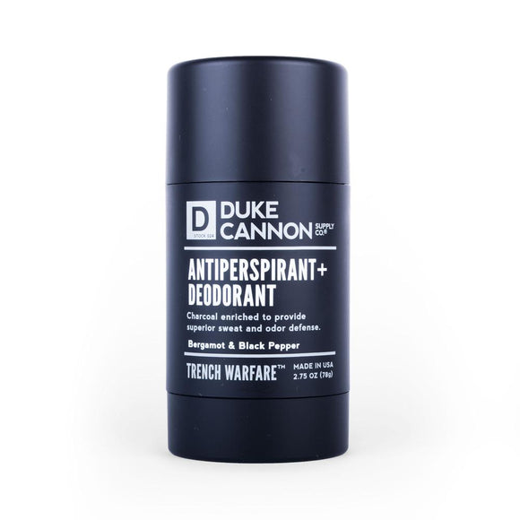 Duke Cannon Trench Warfare Deodorant/ Bergamot & Black Pepper