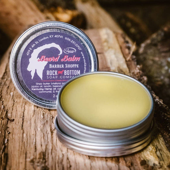 Rock Bottom Soap Co/ Barber Shoppe Beard Balm