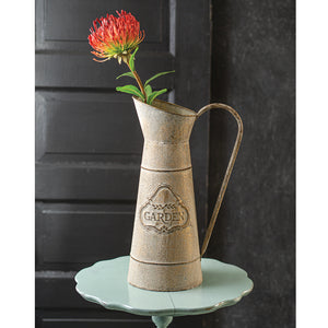 Tall Garden Pitcher