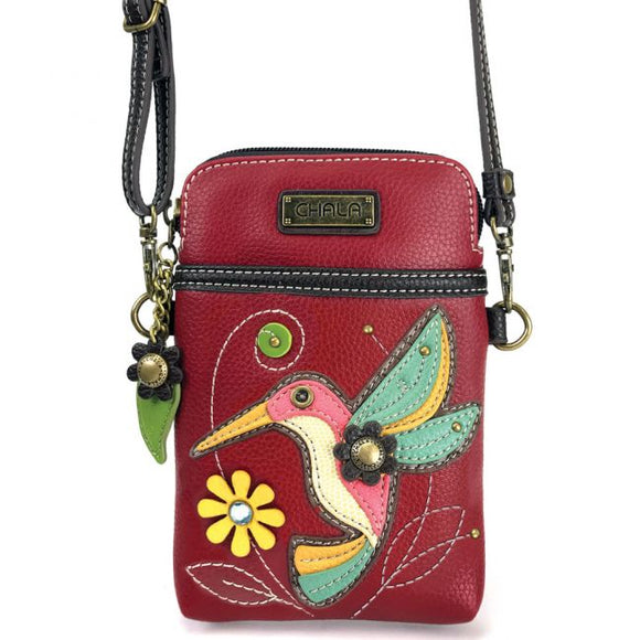 CHALA Cellphone Crossbody Bag / Hummingbird