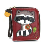 CHALA Zip Wallet / Raccoon