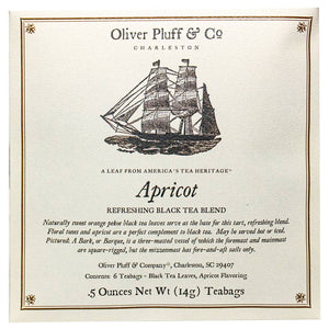 Oliver Pluff & Co - Apricot Tea