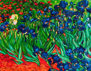 Diamond Dotz Diamond Painting Kit - Van Gogh Irises
