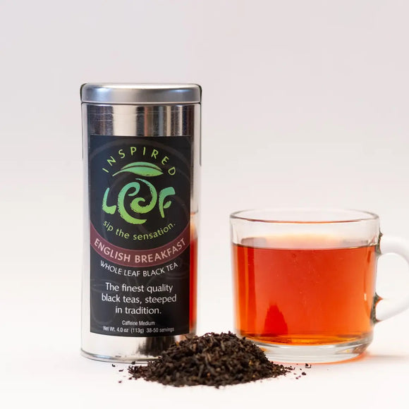 English Breakfast Loose Tea - Inspired Leaf Teas