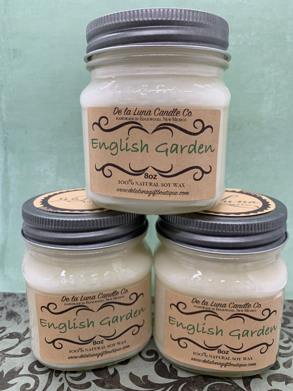 English Garden Soy Candle