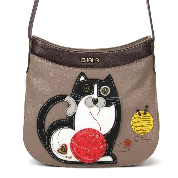 Crescent Crossbody - Fat Cat
