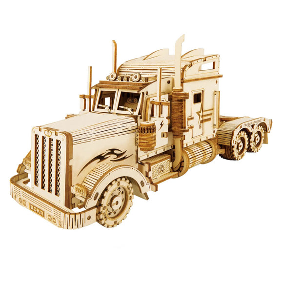 3D Wooden Puzzle - Heavy Truck