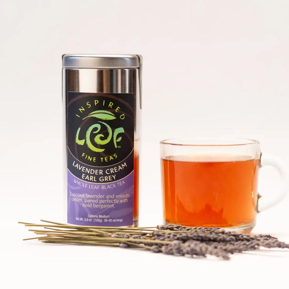 Lavender Cream Earl Grey Loose Tea - Inspired Leaf Teas