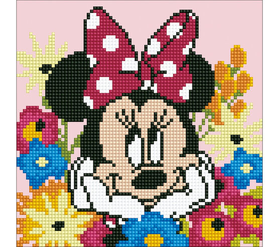 Diamond Dotz Diamond Painting kit - Disney's Minnie Daydream