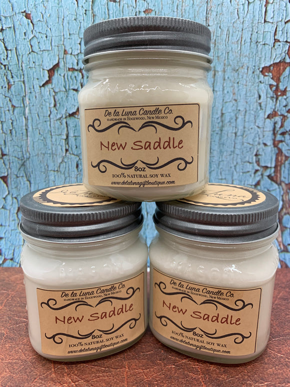 New Saddle Soy Candle