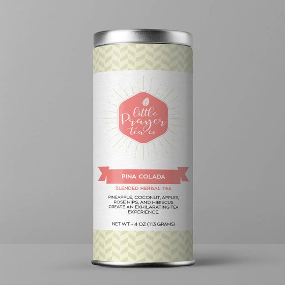 Pina Colada Loose Leaf Herbal Tea - Coconut & Pineapple Tea