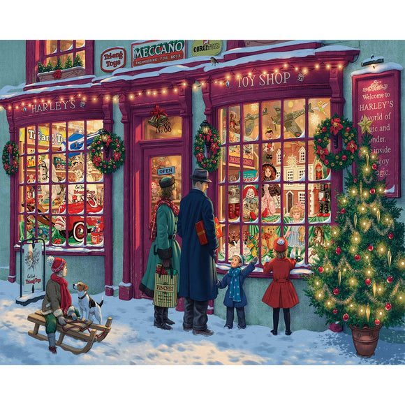 Christmas Toy Shop 1000pc Puzzle