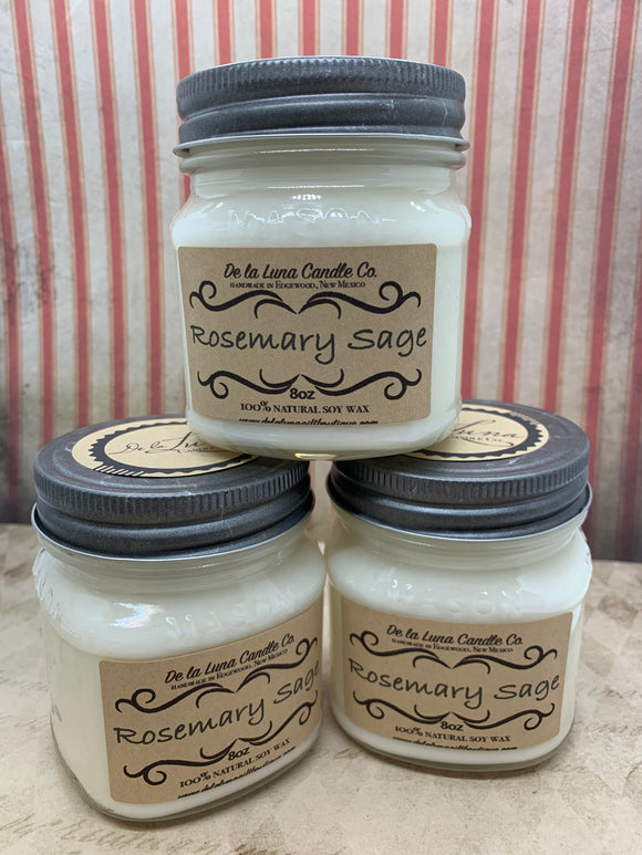 Rosemary Sage Soy Candle