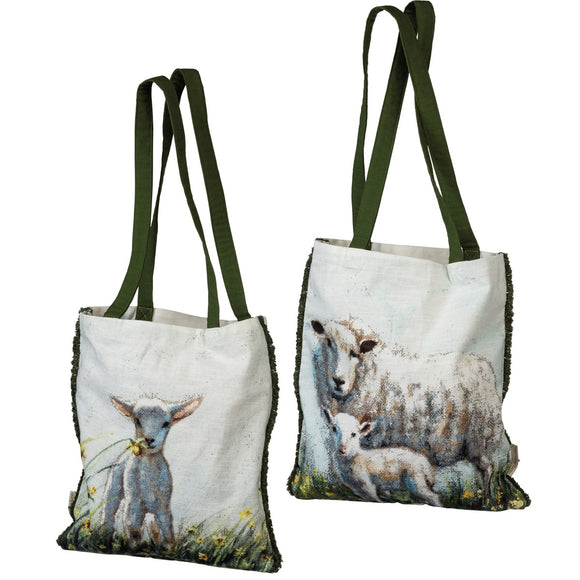 Double Sided Sheep Tote