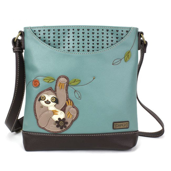 Sloth Sweet Messenger Crossbody Bag