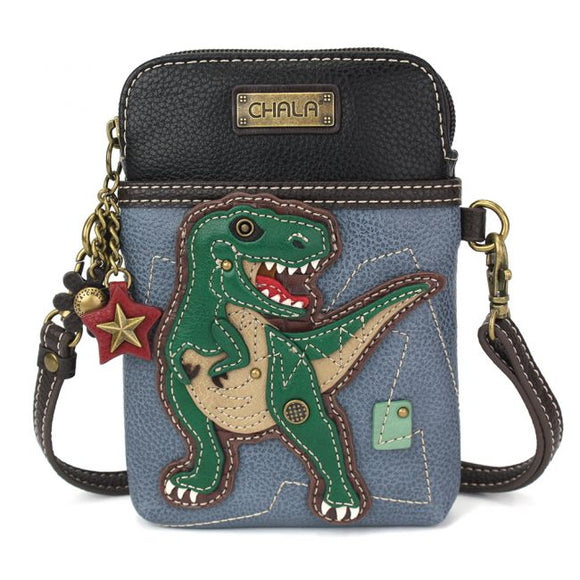 Cellphone Crossbody - T-Rex