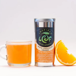White Chocolate Orange Loose Tea - Inspired Leaf Teas