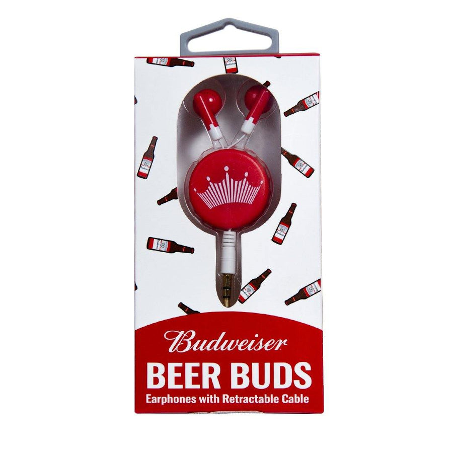 Budweiser Retractable Ear Buds