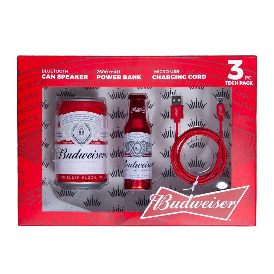 Budweiser 3 Piece Tech Pack