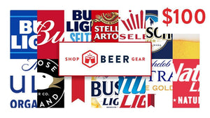 $100 Shop Beer Gear Beer Money Gift Card