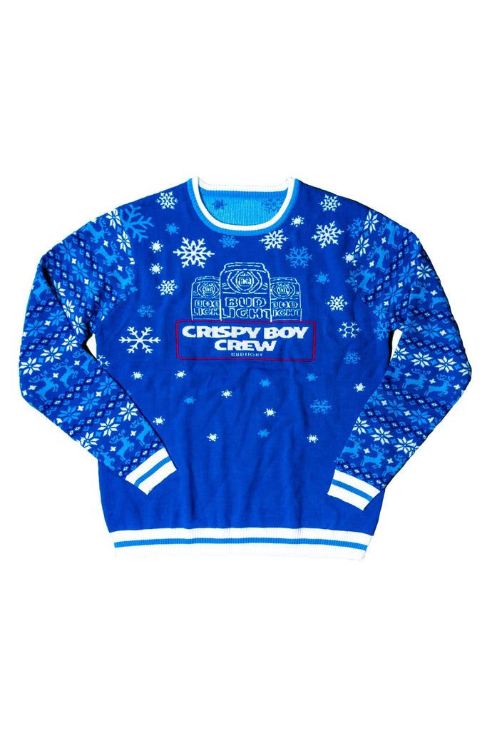 Bud Light Crispy Boy Crew Sweater