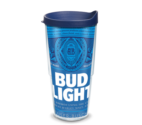 Tervis 'Bud Light Label' Tumbler - 24oz
