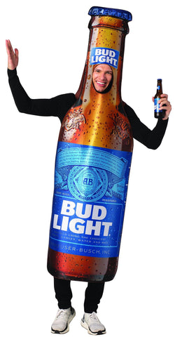 Bud Light Bottle Costume