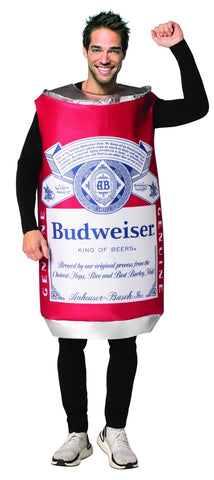 Budweiser Vintage Can Costume