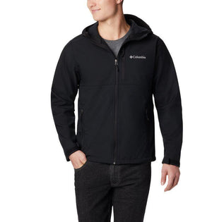 Budweiser Columbia® Ascender Hooded Softshell Jacket