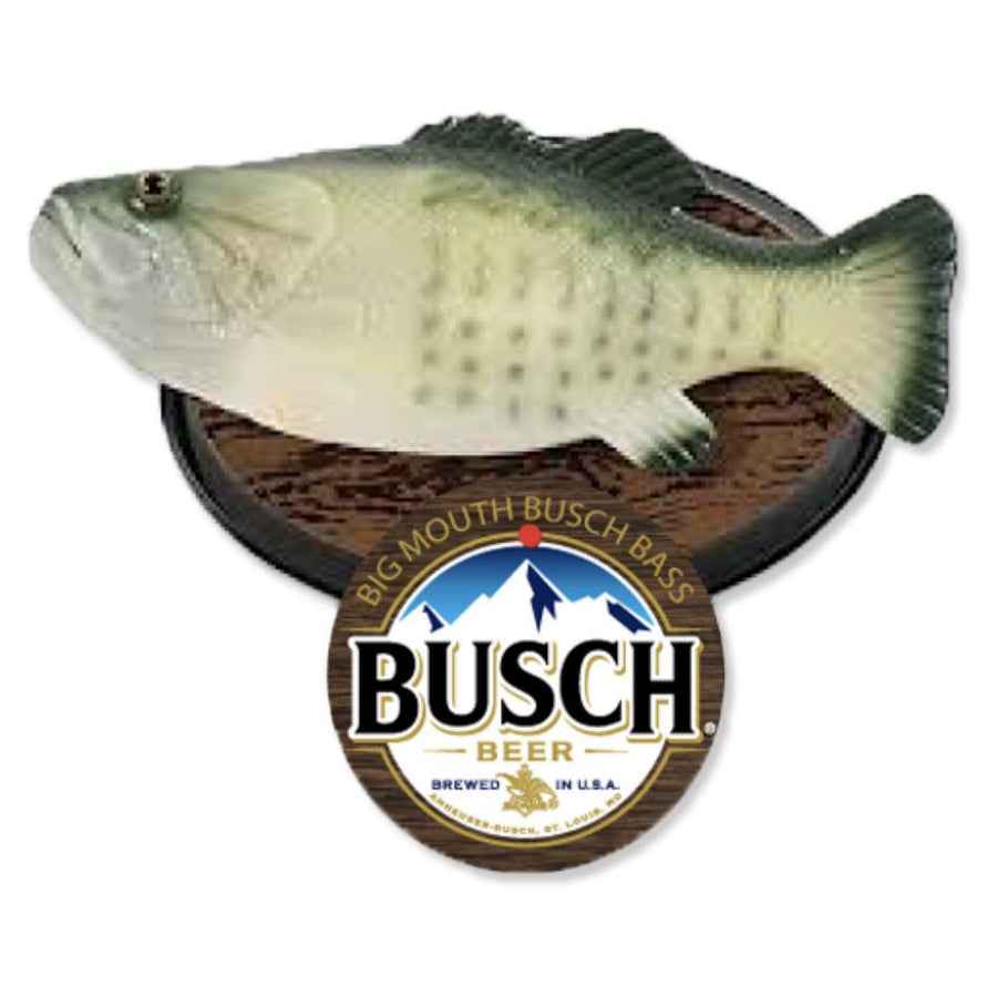 Busch Big Mouth Billy Bass Fish