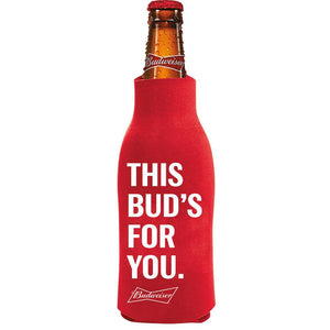Budweiser Zippered Coolie