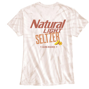 Natural Light Seltzer Aloha Beaches Tie-Dye Tee