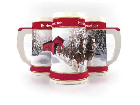 NEW! 2019 Limited Edition Clydesdales Holiday Stein