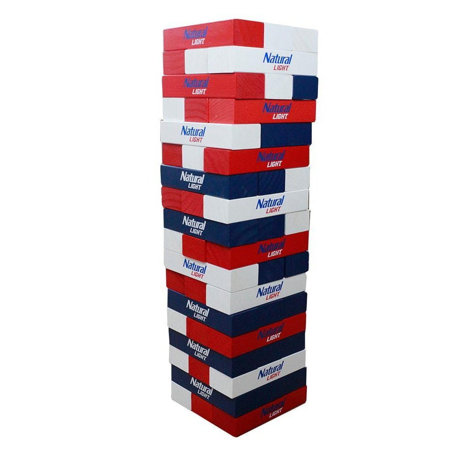Natural Light Giant Wooden Tower Game