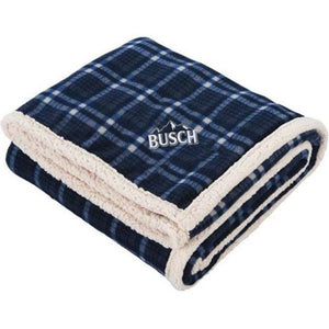 Busch Plaid Blanket