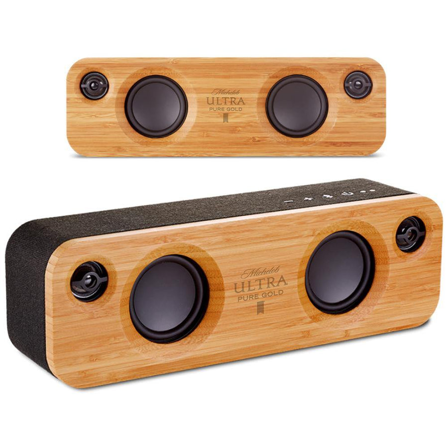 Michelob Ultra Pure Gold House of Marley Bluetooth Speaker