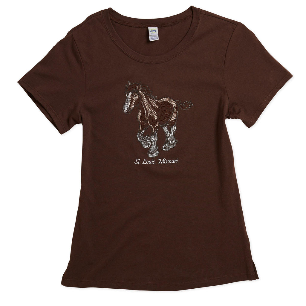Clydesdale Rhinestone Tee