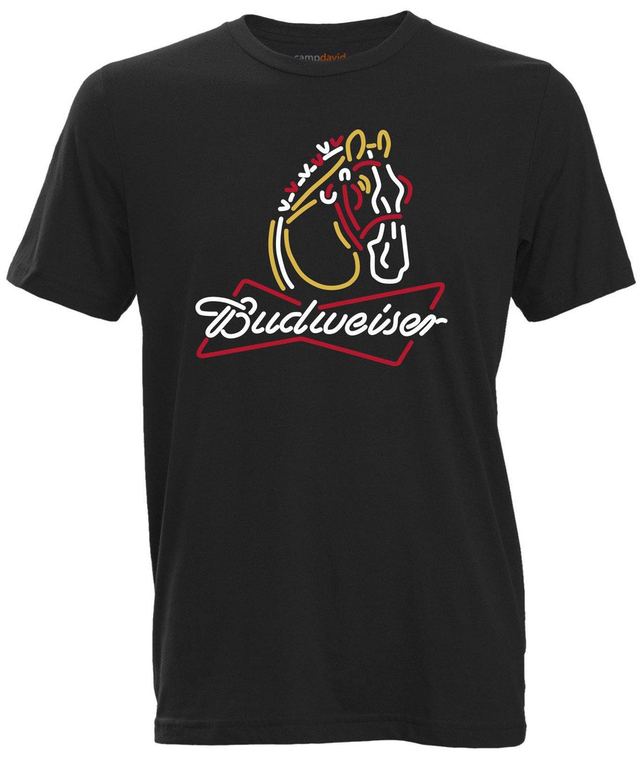 Budweiser Clydesdale Neon Tee