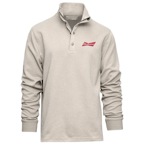 Budweiser Bowtie Wingman 1/4 Button Up