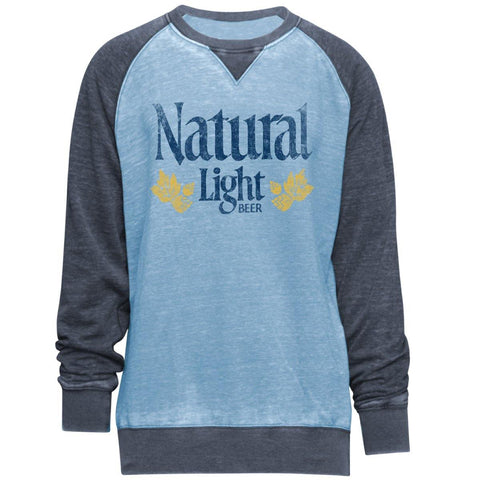 Natural Light Crew Neck Sweatshirt