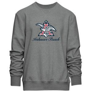 A & Eagle Crew Neck Sweatshirt Grey