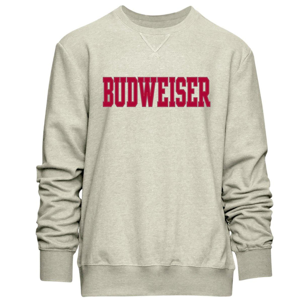 Budweiser Natural Crew Neck Sweatshirt