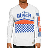 Busch Long Sleeve Race Flag Tee