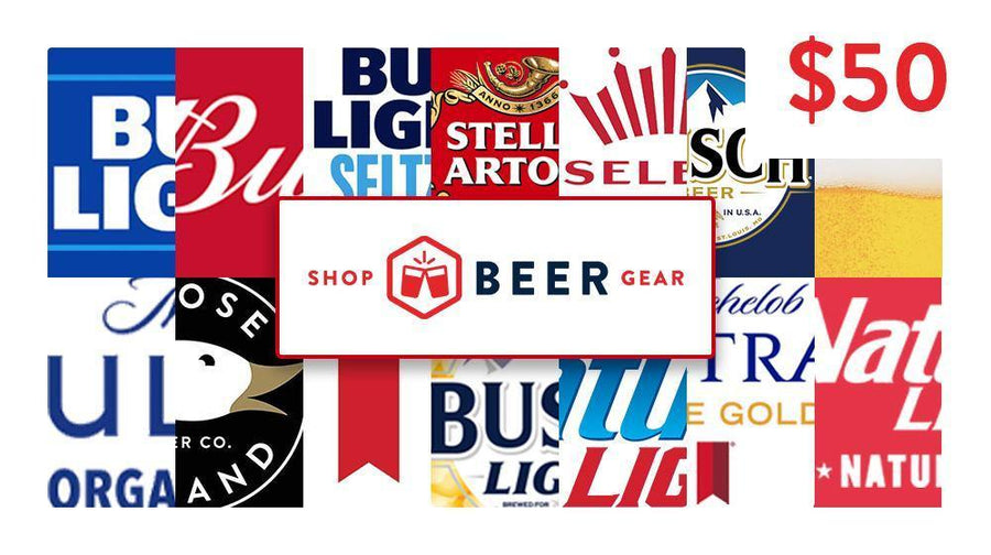 $50 Shop Beer Gear Beer Money Gift Card